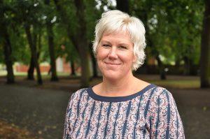 Kristina Edlund, Kommunstyrelsens ordförande, Linköping Fotograf Per Nibell